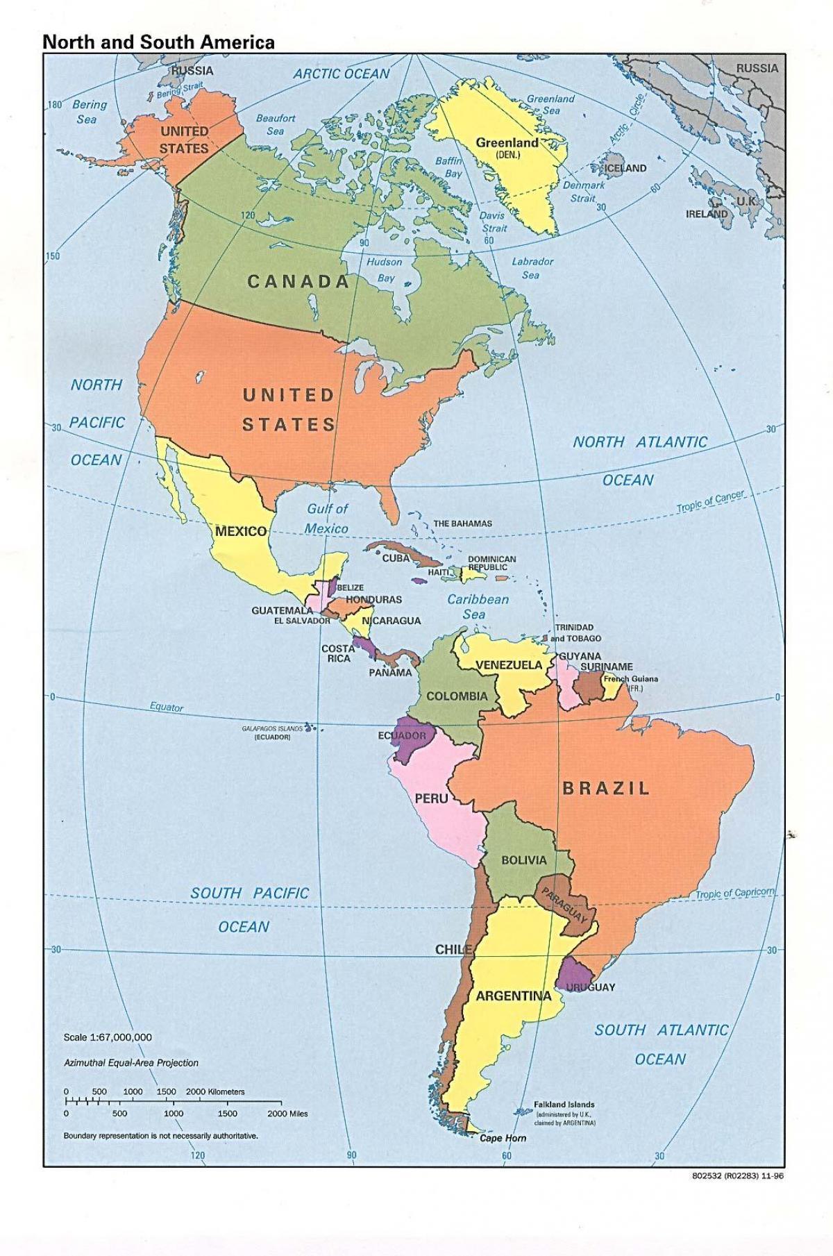 Karta U Kanadi Sa Svjetskih Oceana Kanada Kartica Oceana